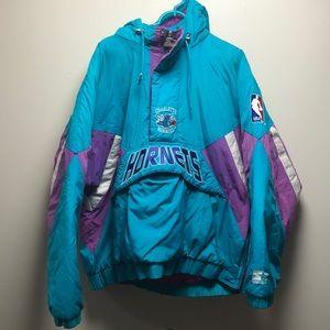 Vintage XL Starter Charlotte Hornets Jacket